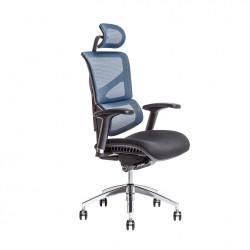 Židle kancelářská MEROPE SP / IW-04 - modrá