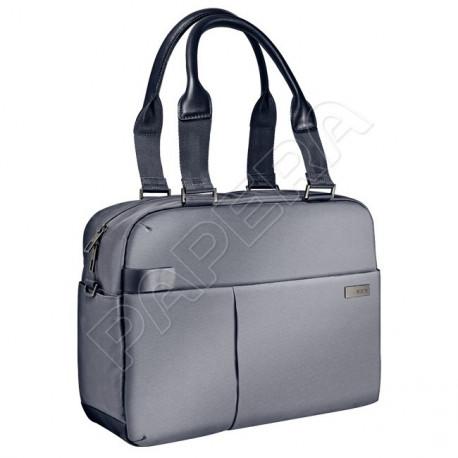 """Dámská taška pro notebook 13,3"""" Leitz Complete, stříbrná"""