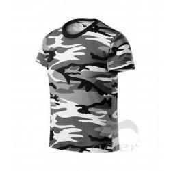 Tričko dětské CAMOUFLAGE gray
