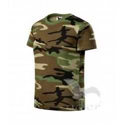 Tričko dětské CAMOUFLAGE brown