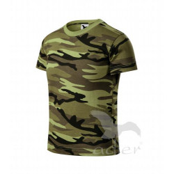 Tričko dětské CAMOUFLAGE green