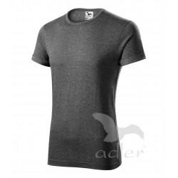 Tričko pánské FUSION černý melír