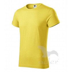 Tričko pánské FUSION žlutý melír