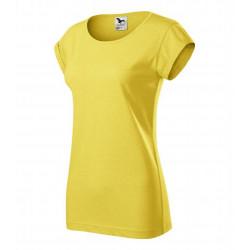 Tričko dámské FUSION žlutý melír