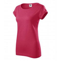 Tričko dámské FUSION červený melír