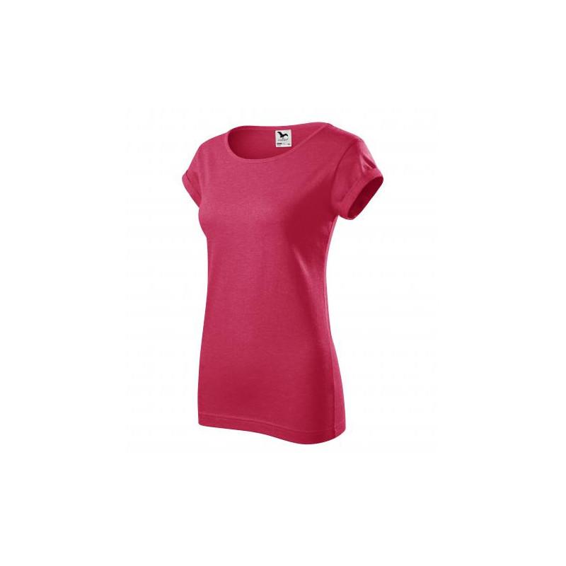 1efee4ef2490 Tričko dámské FUSION červený melír