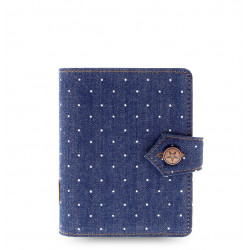Diář Filofax DENIM DOTS A6