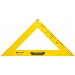 Trojúhelník 45/90 na tabuli LINEX