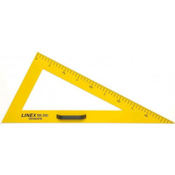 Trojúhelník 30/60 na tabuli LINEX