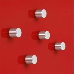 Silný magnet - tvar válce / 4 ks