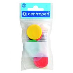 Magnetky barevné 30 mm, 6 ks