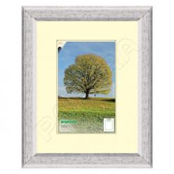 Dřevěný rámeček Berlín, A4 / 21 x 29,7 cm - bílá