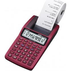 Kalkulátor s tiskem CASIO HR 8 TEC, červená