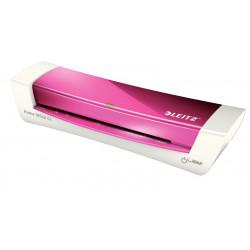 Laminátor LEITZ iLam Home Office A4 - růžový