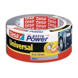 Textilní páska  Extra Power - stříbrná