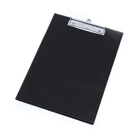 Podložka psací A4 klip obyčejná - černá