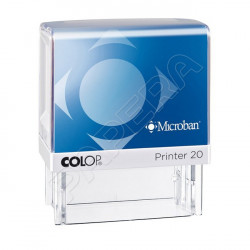 Razítko samobarvicí COLOP Microban PRINTER LINE 20