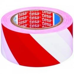 Značkovací páska  červeno/bílá