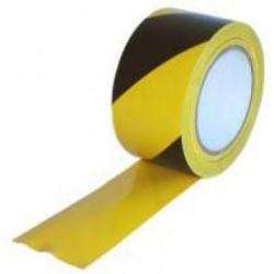Výstražná vytyčovací páska  žlutočerná - 500m