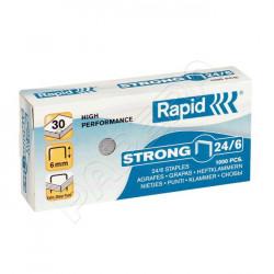 Spony do sešívačky RAPID STRONG 24/6 / 1000 ks
