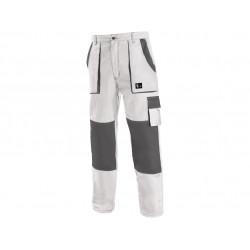 Pánské kalhoty CXS LUXY JOSEF, bílo-šedé