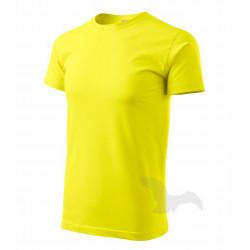 Tričko pánské BASIC citrónové