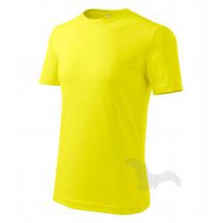 Tričko pánské CLASSIC NEW citronónové
