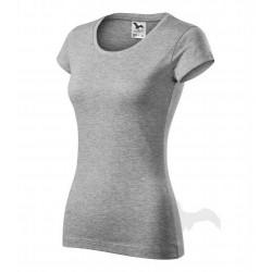 Tričko dámské VIPER tmavě šedý melír
