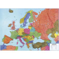 Mapa nástěnná EVROPA politická 140 x 100cm