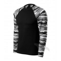 Triko pánské CAMOUFLAGE LS camouflage gray