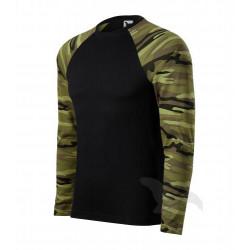 Triko pánské CAMOUFLAGE LS camouflage green