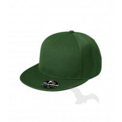 Kšiltovka RAP 6P lahvově zelená