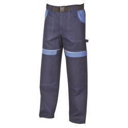 Pracovní kalhoty do pasu COOL TREND tm.-sv.modré