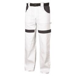 Pracovní kalhoty do pasu COOL TREND bílo-šedé