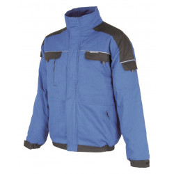 Pracovní blůza zimní COOL TREND modro-černá