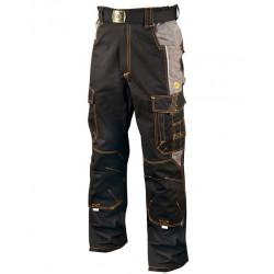 Pracovní kalhoty do pasu VISION 02 BLACK
