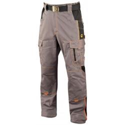 Pracovní kalhoty do pasu VISION 02 GREY