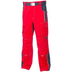 Pracovní kalhoty do pasu VISION 02 RED