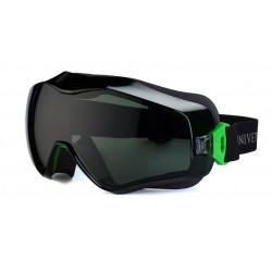 Brýle ochranné Goggle UNIVET 6X3 zelené G15
