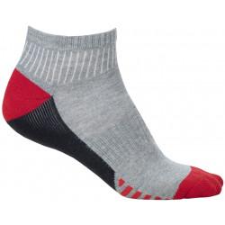Ponožky kotníkové DUO RED, 2 páry v balení