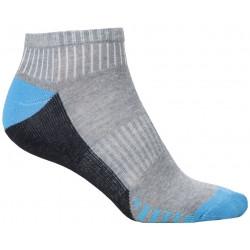 Ponožky kotníkové DUO BLUE, 2 páry v balení