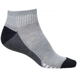 Ponožky kotníkové DUO GREY, 2 páry v balení