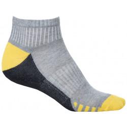 Ponožky kotníkové DUO YELLOW, 2 páry v balení