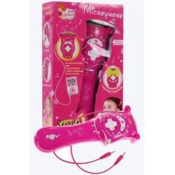 Mikrofon s MP3 + karaoke