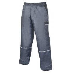 Zimní kalhoty do pasu LINO tm. modrá