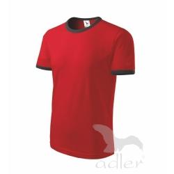 Tričko unisex  Infinity - červené