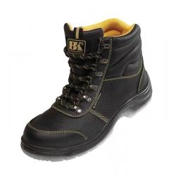 Pracovní zateplená holeňová obuv BLACK KNIGHT WINTER S3 CI