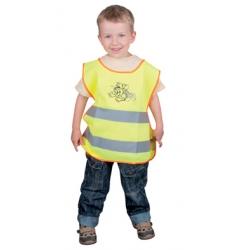 Dětská bezpečnostní vesta Alex junior žlutá