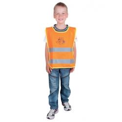Dětská bezpečnostní vesta Alex junior oranžová
