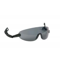 Integrované brýle na přilbu Peltor V6B - kouřové